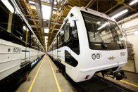 Fotók az új budapesti metróról
