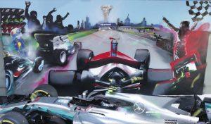 F1: Így készült az Ausztrál Nagydíj graffitije