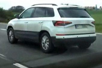 Kémfelvételen a Škoda Yeti utódja