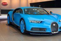 Megnyílt a világ legnagyobb Bugatti szalonja
