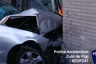 Részeg autós rongyolt a Heineken irodájába