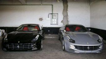 Leárazzák a királyi Ferrarikat
