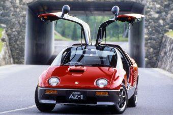 A legkisebb sirályszárnyas sportkocsi