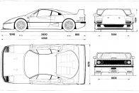 A Ferrari F40 mellé adott gyári kézikönyvre illene a 18-as karika