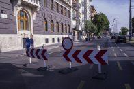 Kezdődnek a nagy útlezárások Budapesten