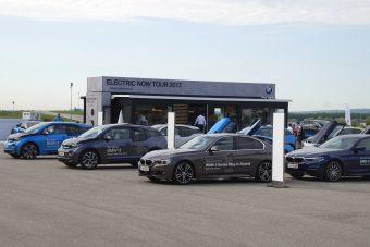 Egészpályás elektromos letámadás a BMW-től