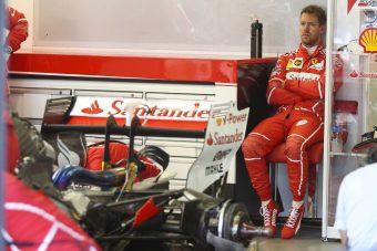 F1: Vettelnél leszállt a vörös köd