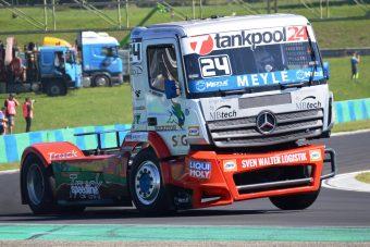 Nagypapa is rajthoz áll a kamion-Európa-bajnokságon