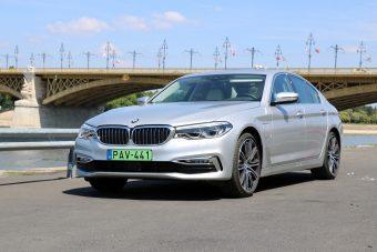 Villannyal is jó autó az 5-ös BMW