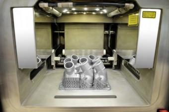 3D-nyomtatóval készülnek a Mercedes-cserealkatrészek