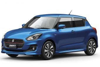 Az új Suzuki Swiftet már áram hajtja