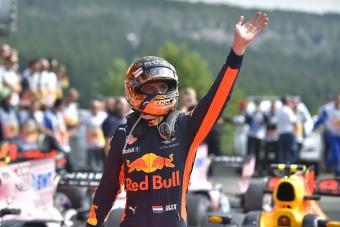 F1: Verstappen köre nem lehetett ennél jobb