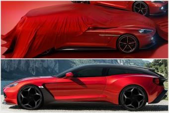 Elképesztő Aston Martin kombi a Zagatótól