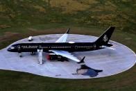 Ilyen luxusrepülőgép még nem landolt Budapesten