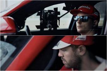 Kimi és Vettel lement Alfába