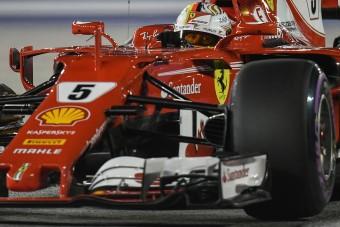 F1: Vettel a falról pattant a pole-ra