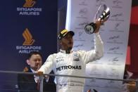 F1: Hamilton nem hajt Schumacher rekordjára
