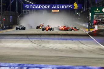 F1: 2003-as balesetet másoltak Räikkönenék - videó