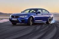 Titkok az összkerekes BMW M5-ről