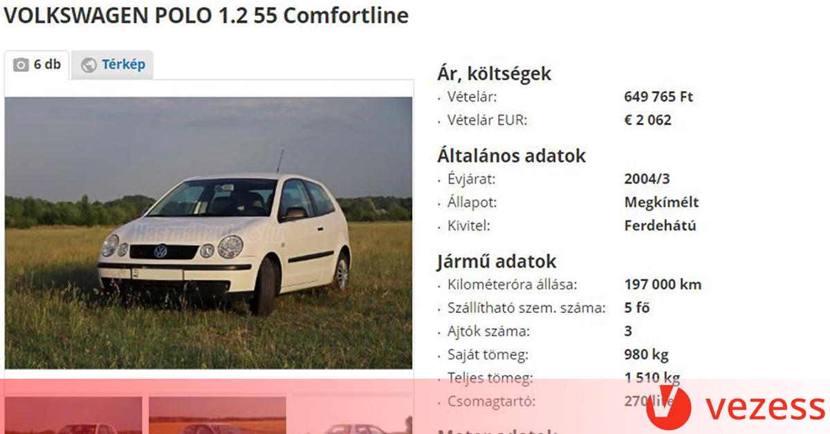 A magyar apuka valószínűleg megírta minden idők használtautó-hirdetését  8e9d4ed243