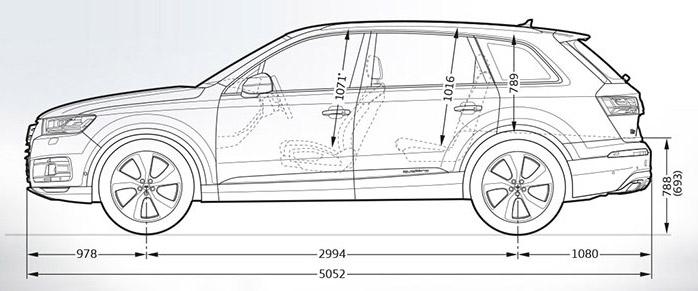 Teszt Audi Q7 3 0 V6 Quattro Tiptronic
