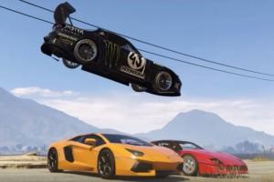 Gymkhana a GTA 5-ben! Ezt látni kell
