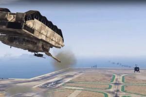Ugratás közben lőtte szét a tank a helikoptert